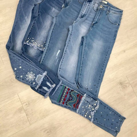win a pair of our fabulous new embellished jeans